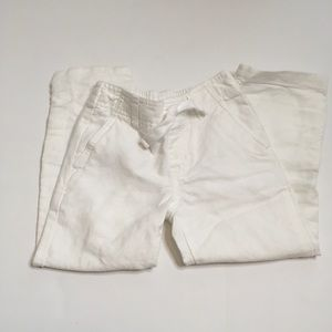 New Boys Janie and Jack Linen Pants. Sz4